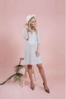 Сукня Біла 1571 0002 для вагітних