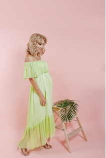 Сукня Лимонного кольору 1705 0106 для вагітних