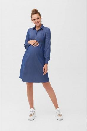 Сукня 1763 0000 Синій Для вагітних і годування