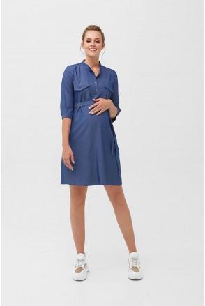 Сукня 2092 0000 Синій для вагітних і годування
