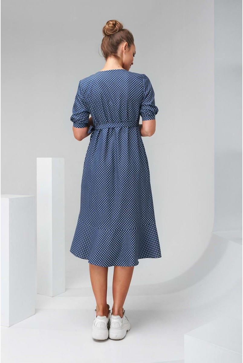 Сукня 2133 1512 Синій Для вагітних і годування