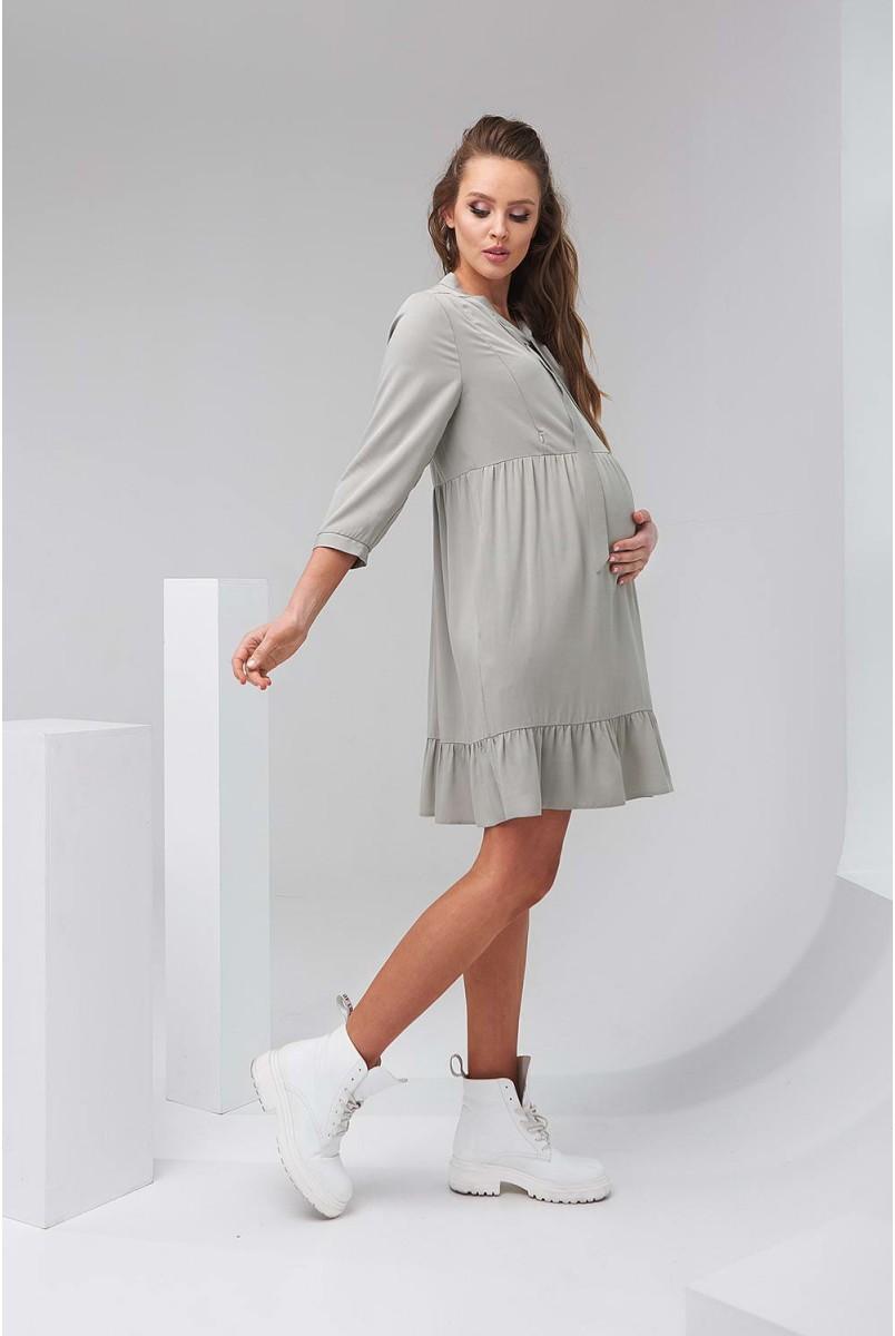 Сукня 2122 1505 фісташковий для вагітних і годування
