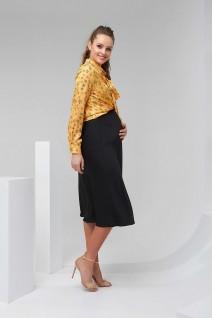 Блуза 2026 1325 жовтий для вагітних