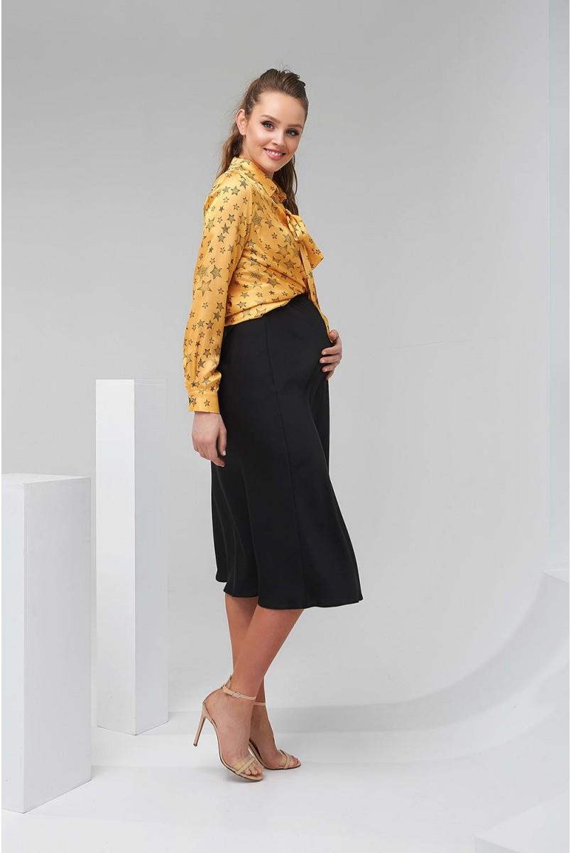 Спідниця 2134 1507 Чорний Для вагітних