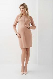 Сукня арт. 2020 1313 карамель для вагітних і годування