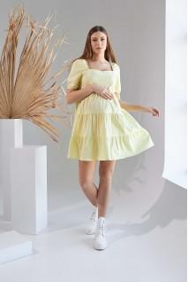 Сукня 2154 1525 Жовтий Для вагітних і годування