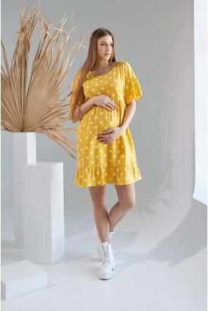 Сукня 2156 1515 Жовтий Для вагітних і годування