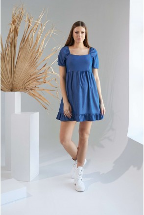 Сукня 2153 0000 Синій Для вагітних і годування