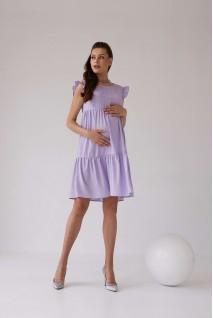Сукня 2155 1535 лавандовий для вагітних і годування