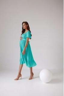 Платье 2103 1544 салатовый для беременных