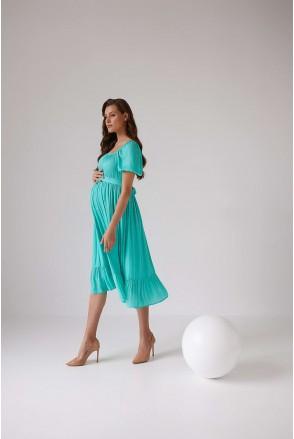 Сукня 2103 1544 салатовий для вагітних