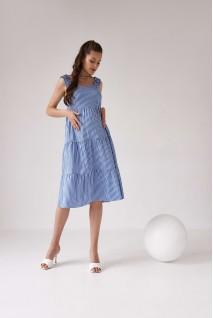 Платье для беременных и кормления Dianora 2165 0002 синий
