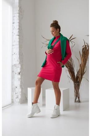 Платье для беременных и кормления Dianora 2170 1563 малиновый