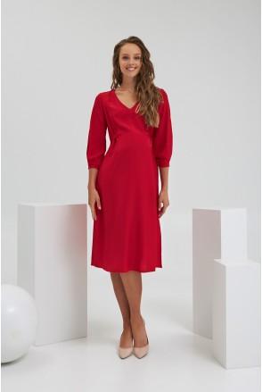 Платье для беременных и кормления Dianora 2181 1554 красный