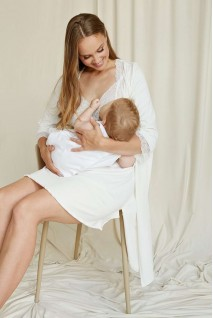 Халат молочний 2065 1366 для вагітних і годування
