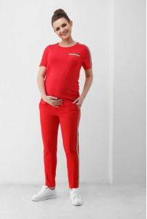 Футболка красная 1852 0006 для беременных