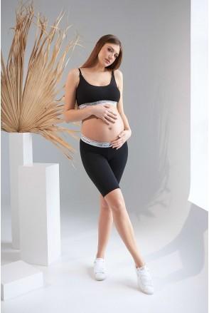 Топ 2160 1397 черный для беременных и кормления