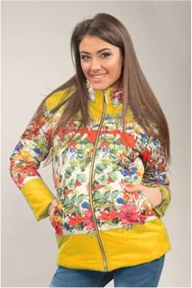 Куртка Жовта 1576 0001 для вагітних