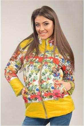 Куртка Желтая 1576 0001 для беременных
