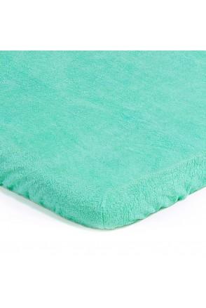 Детский непромокаемый наматрасник ЭКО ПУПС Чехол Classic (Зеленый)