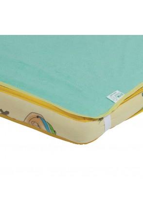 Наматрасник-пеленка 2в1 ЭКОПУПС Classic (Зеленый)