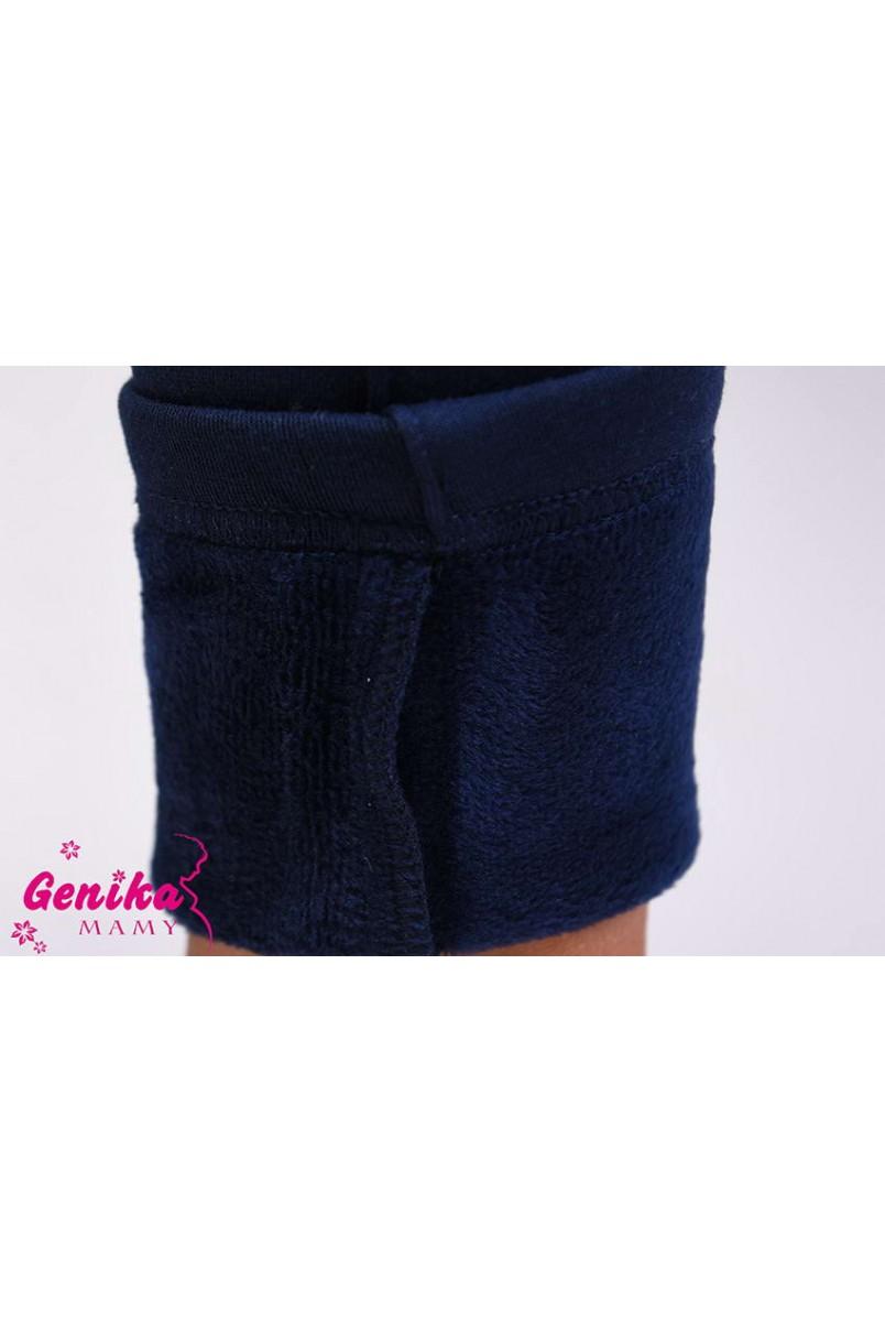 Лосины на меху Genika (Синий)