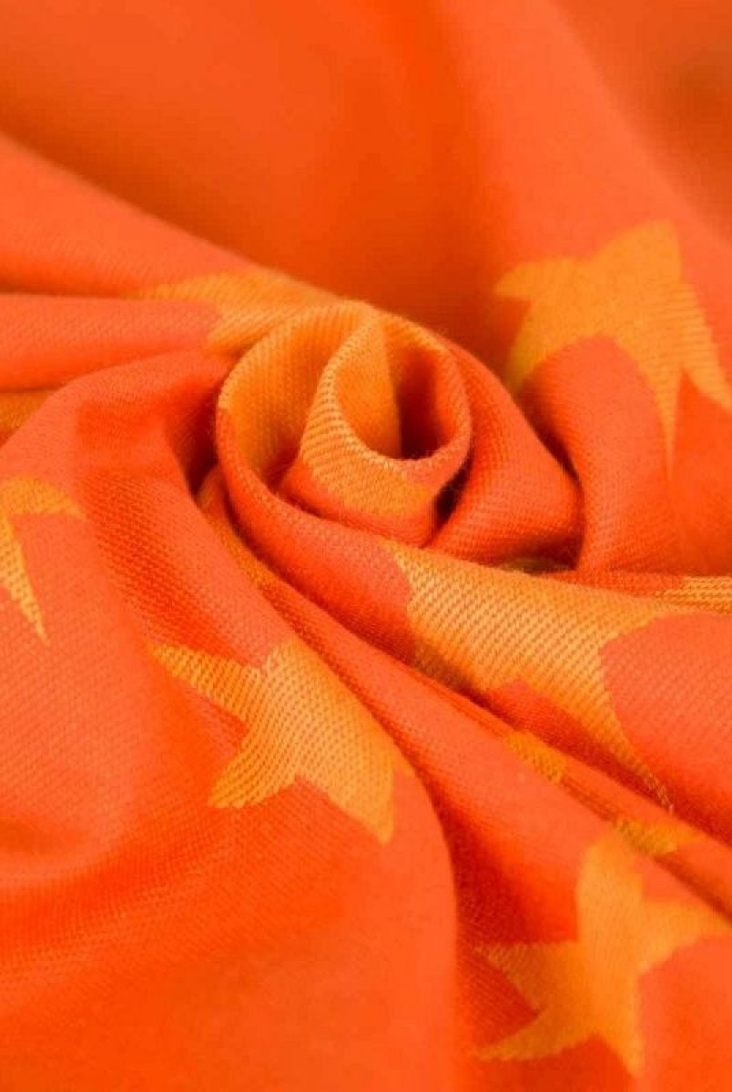 Слинг-шарф Hoppediz Jacquard Los Angeles Orange