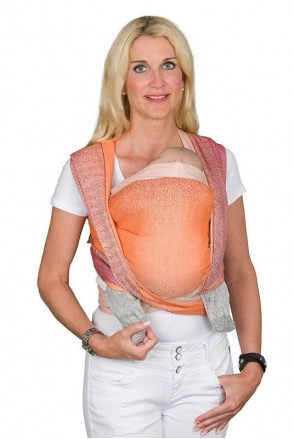 Слинг-шарф Hoppediz Perth Orange Bio