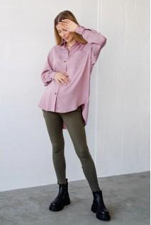 Блуза рубашка для беременных и кормления To be 2101755 пудра