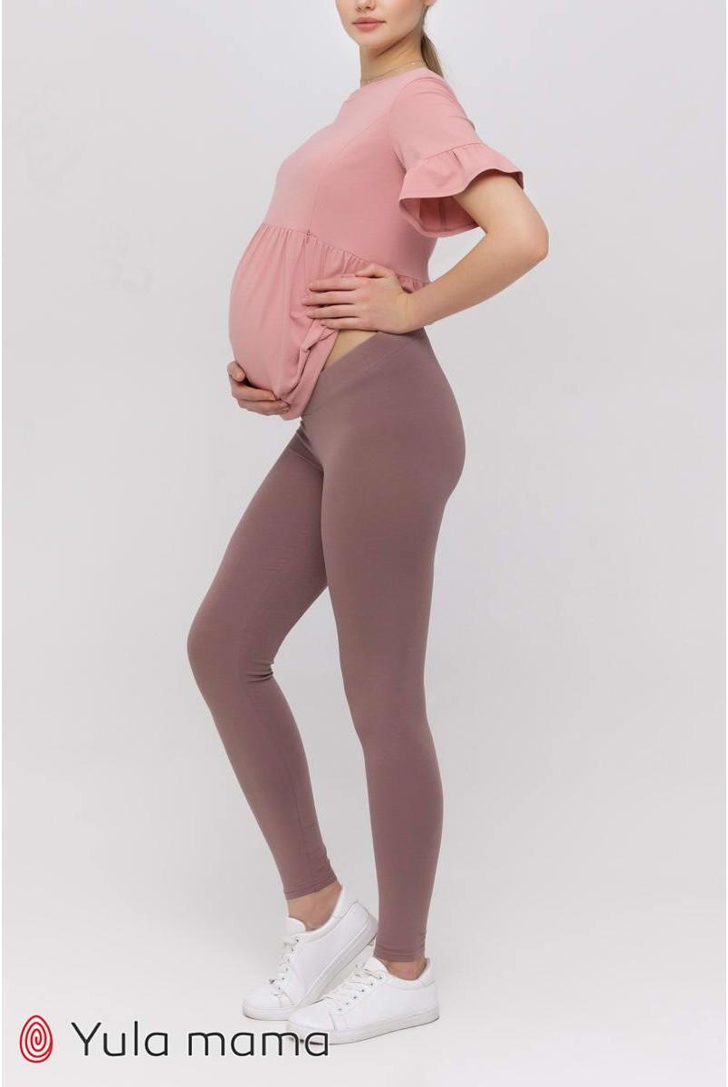 Лосини Kaily new Темний капучино для вагітних