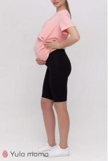 Лосини (велосипедки) Joyce чорний Для вагітних