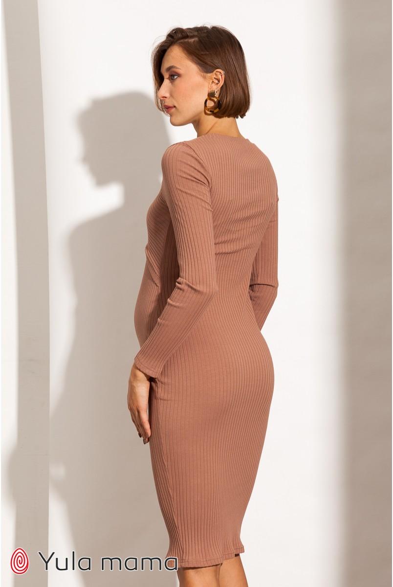 Платье для беременных и кормления Юла мама Lily new DR-31.011 капучино