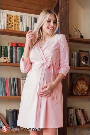 Халат Mone розовый для беременных и кормления