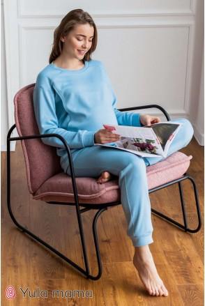Пижама Wendy голубой для беременных и кормления