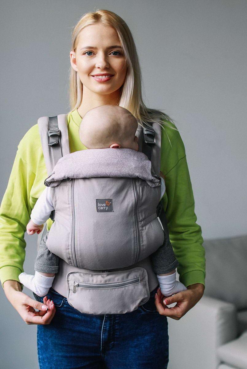 Ерго рюкзак Love & Carry AIR X - Айворі