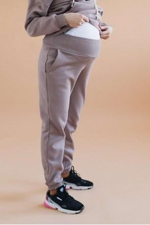Спортивні штани для вагітних Капучино