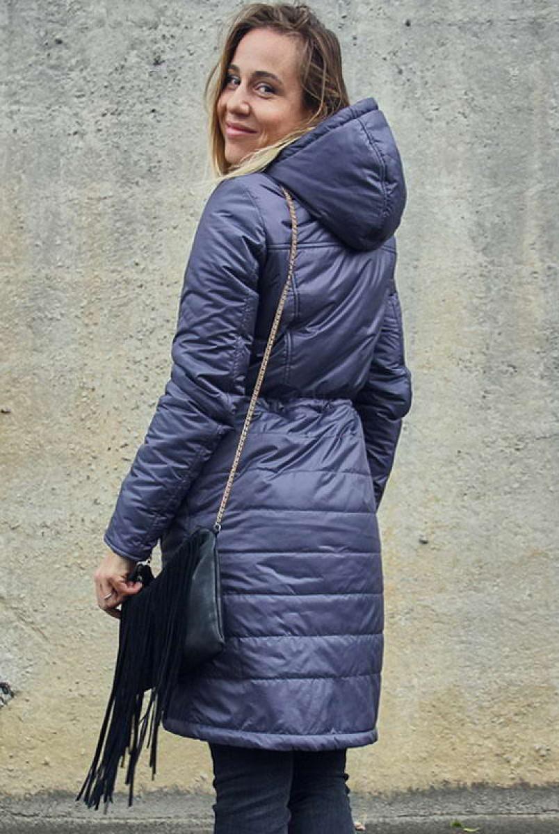 Зимове пальто 2 в 1 Бузок для вагітних