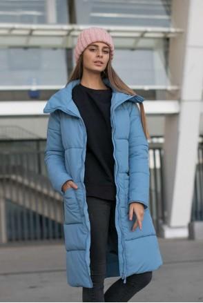 Зимняя слингокуртка 3 в 1 Блу для беременных и слингоношения