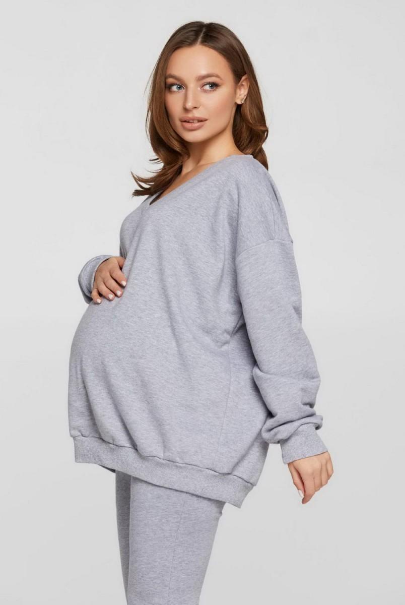 Худі Liverpool (Демі) оверсайз меланж для вагітних
