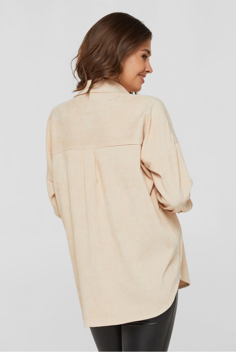 Сорочка Varna айворі для вагітних і годування