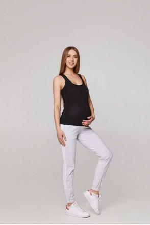 Спортивні штани c лампасами Lublin меланж для вагітних