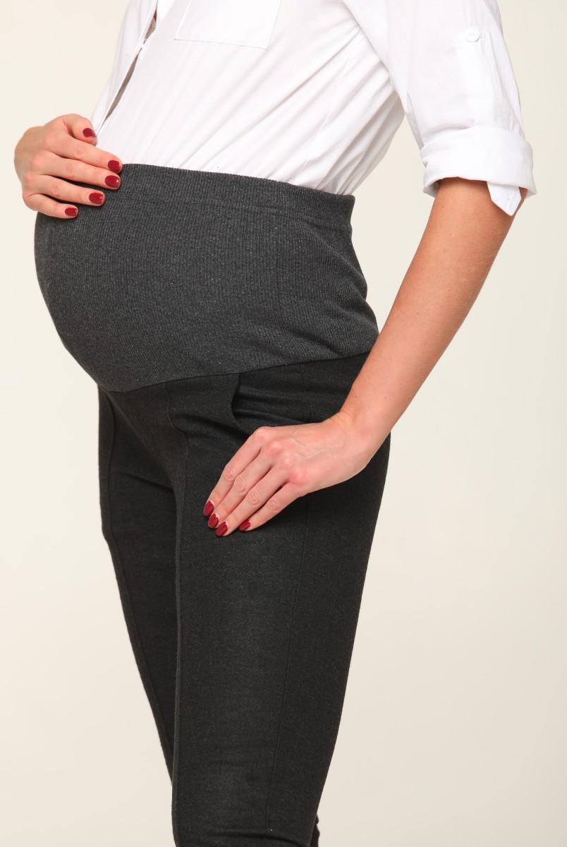 Штани Chicago (Демі) Антрацит для вагітних