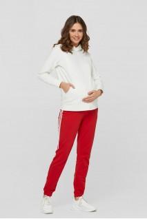 Спортивні штани c лампасами Lublin Червоний Для вагітних