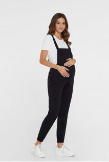 Трикотажный комбинезон для беременных Lullababe Wels LB10WL136-OS черный