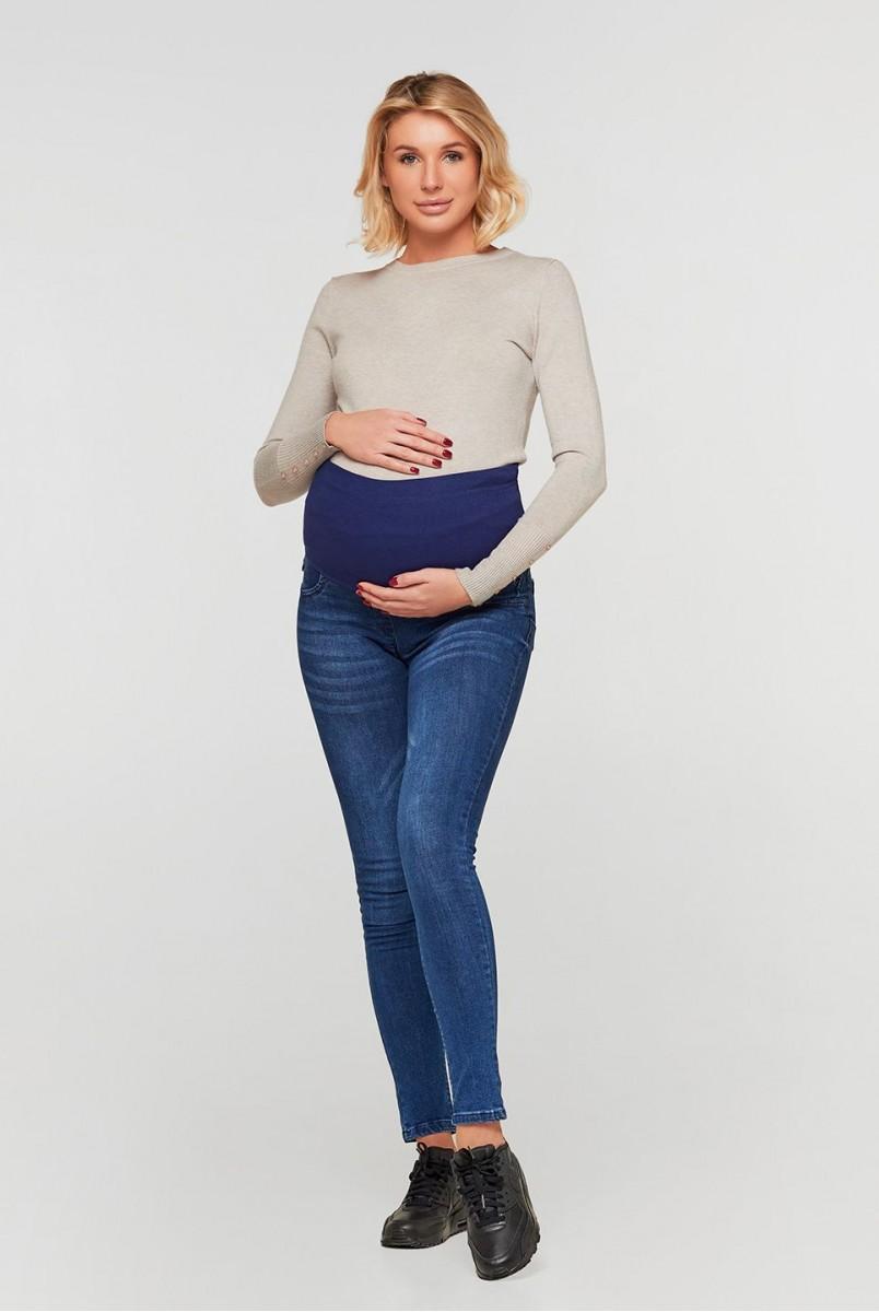 Джинси для вагітних (3761) Синій