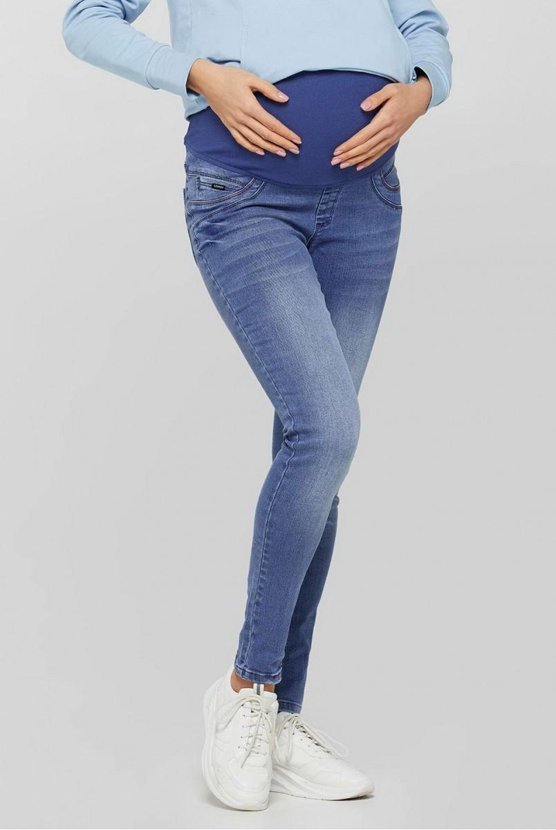 Джинси для вагітних (3746) Skins світло-синій