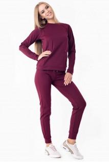 Прогулянковий костюм Manhattan бордо для вагітних і годування