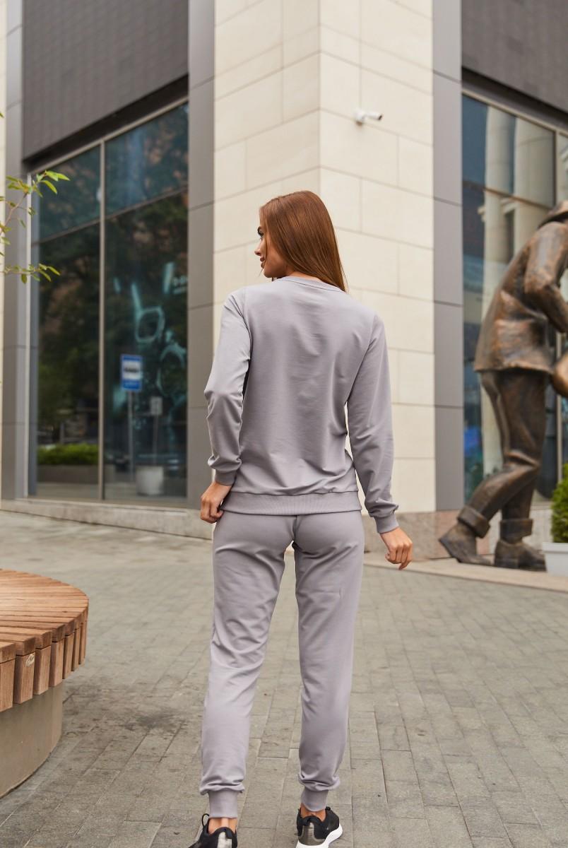 Спортивный костюм для беременных и кормления Lullababe Detroit LB07DT125 стальной