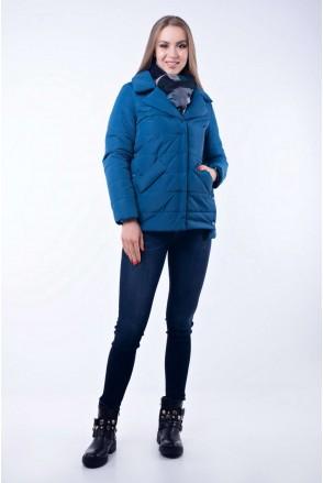 Демисезонная куртка Provanse нэви для беременных
