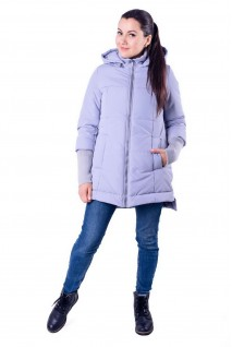 Демисезонная слингокуртка 3 в 1 Nurmes светло-серый для беременных